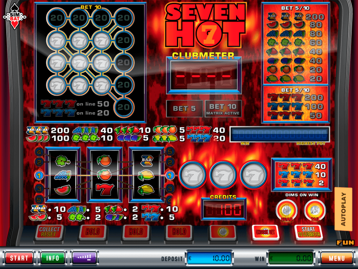 free casino online sizzling hot play