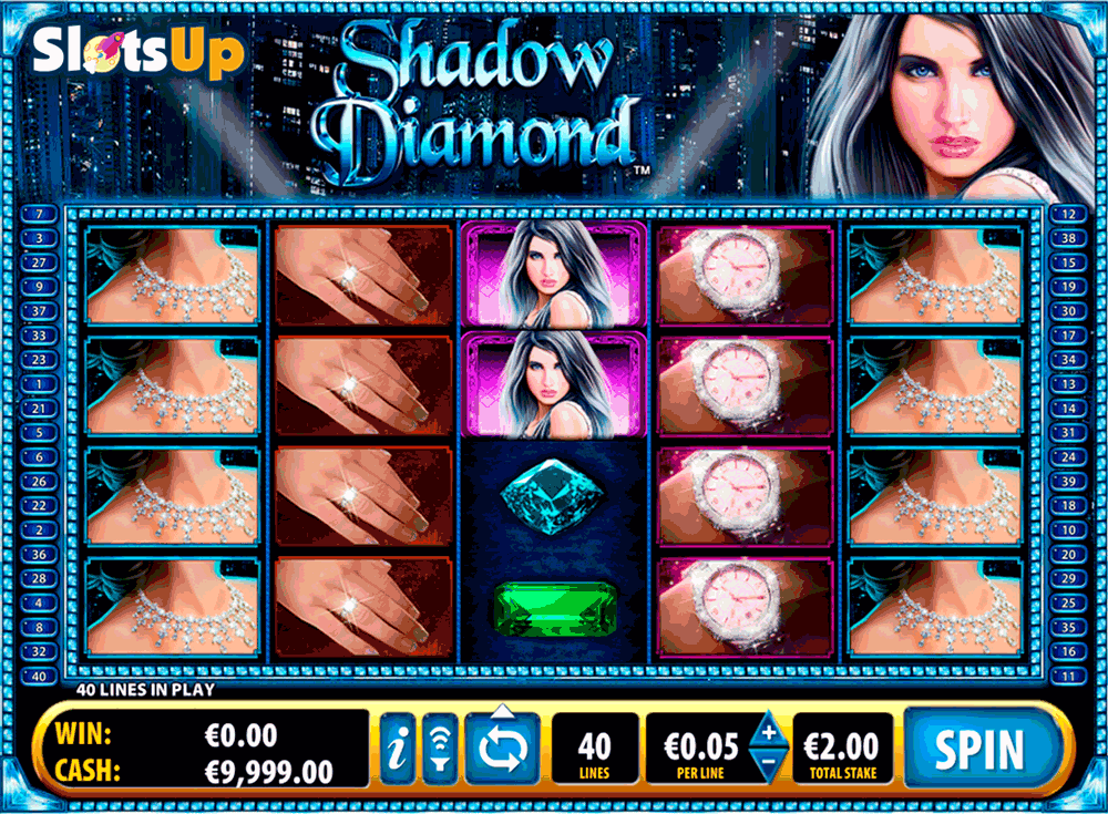 Shadow Diamond™ Slot Machine Game to Play Free in Ballys Online Casinos