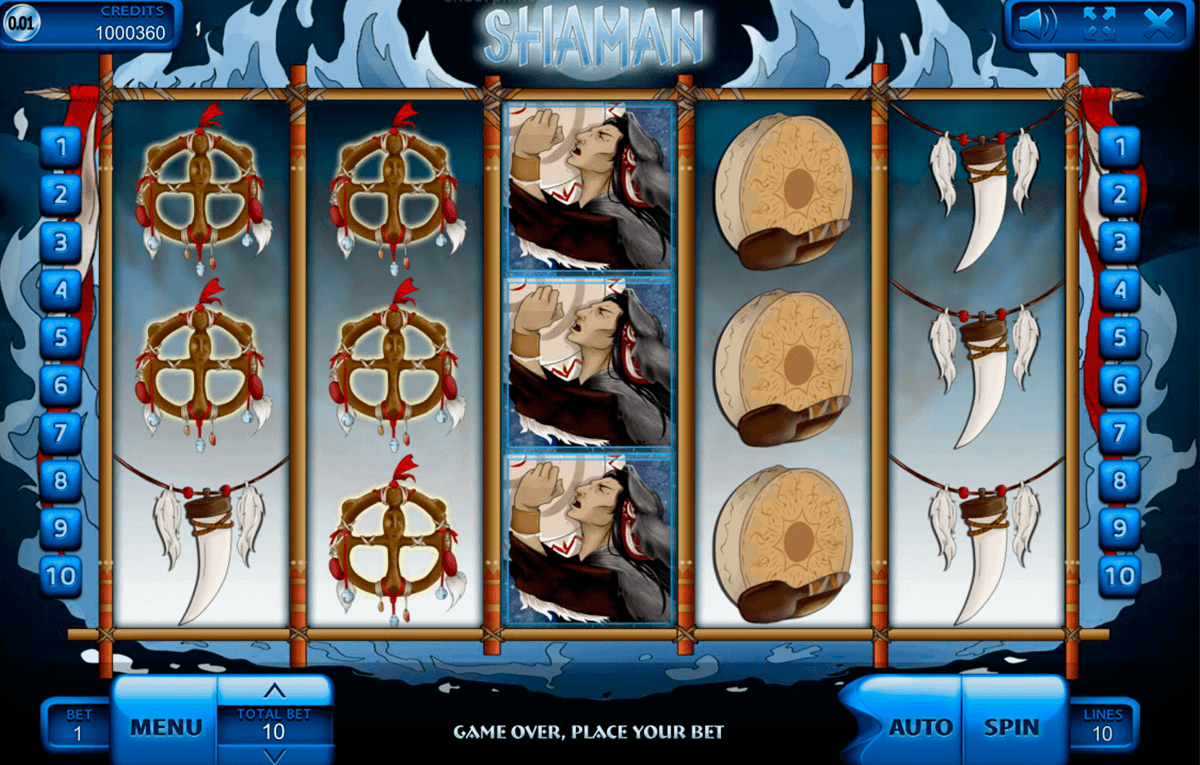 Shaman Spirit Slot - Play Free Casino Slot Machine Games