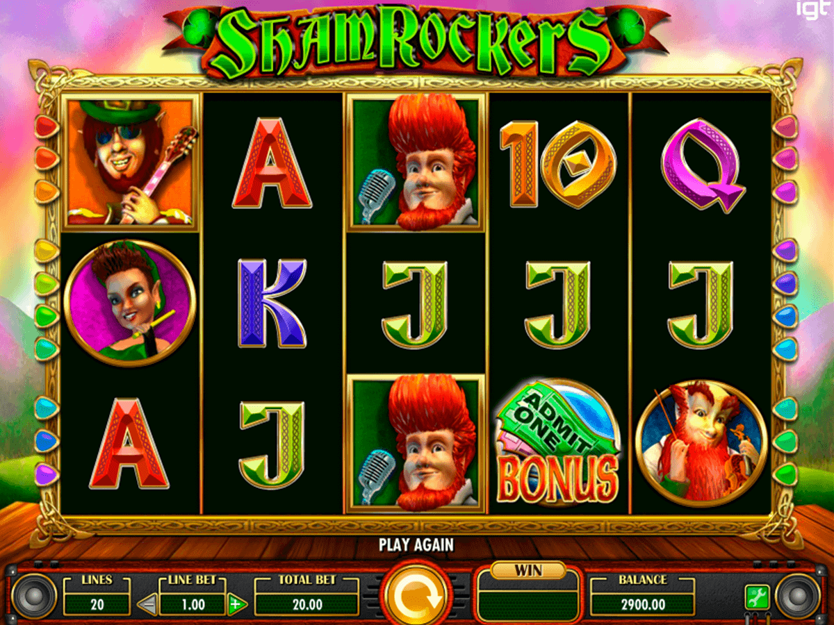 shamrockers casino