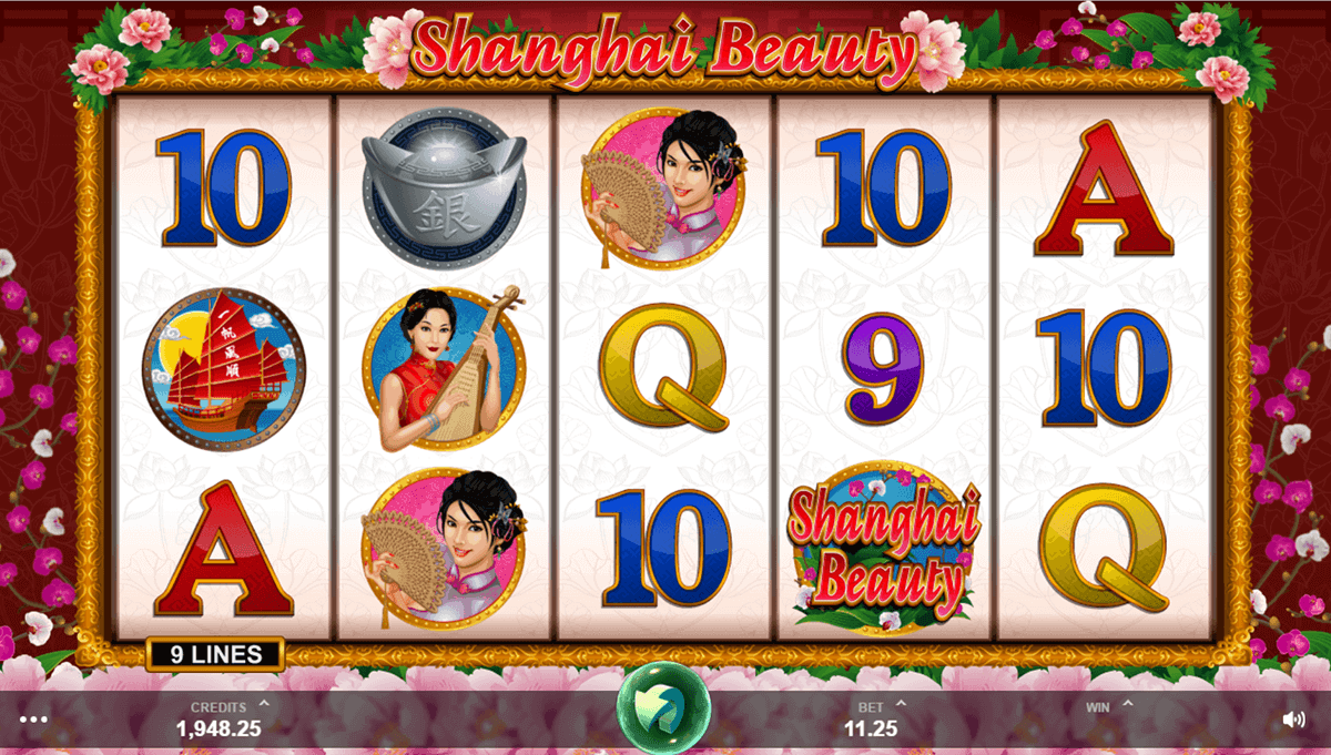 SHANGHAI BEAUTY MICROGAMING CASINO SLOTS