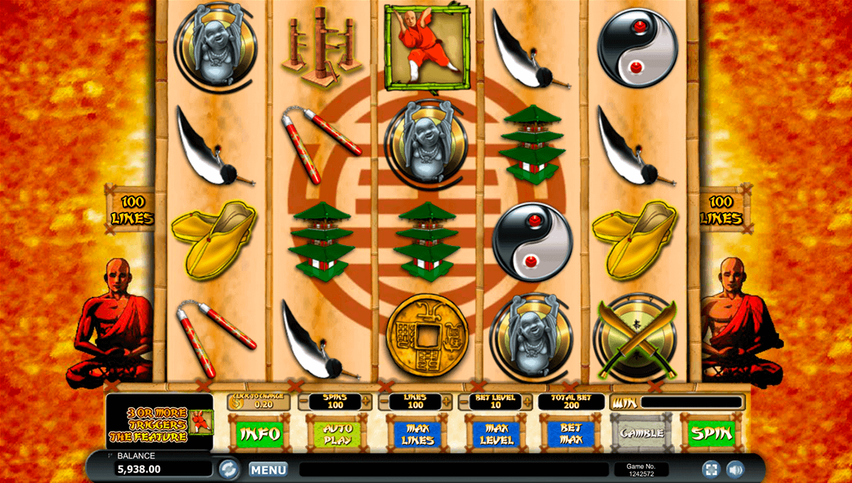 Shaolin Fortunes 100 Slot Machine - Play Penny Slots Online