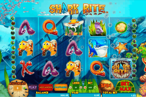 SHARK BITE AMAYA CASINO SLOTS
