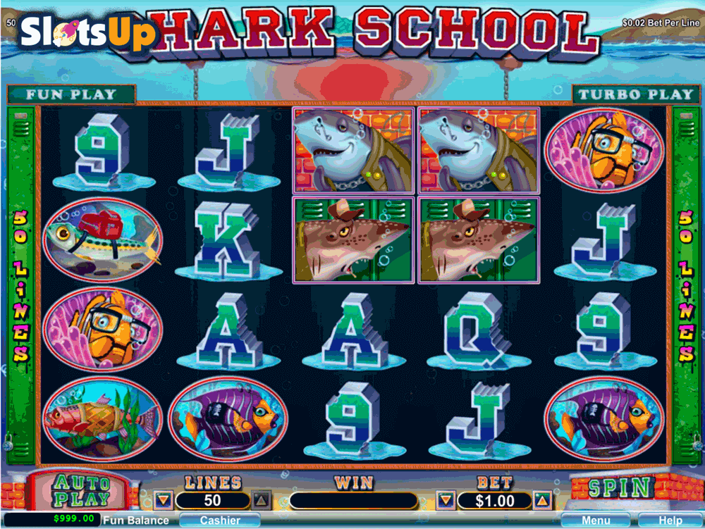 Shark School Slot Machine Online ᐈ RTG™ Casino Slots