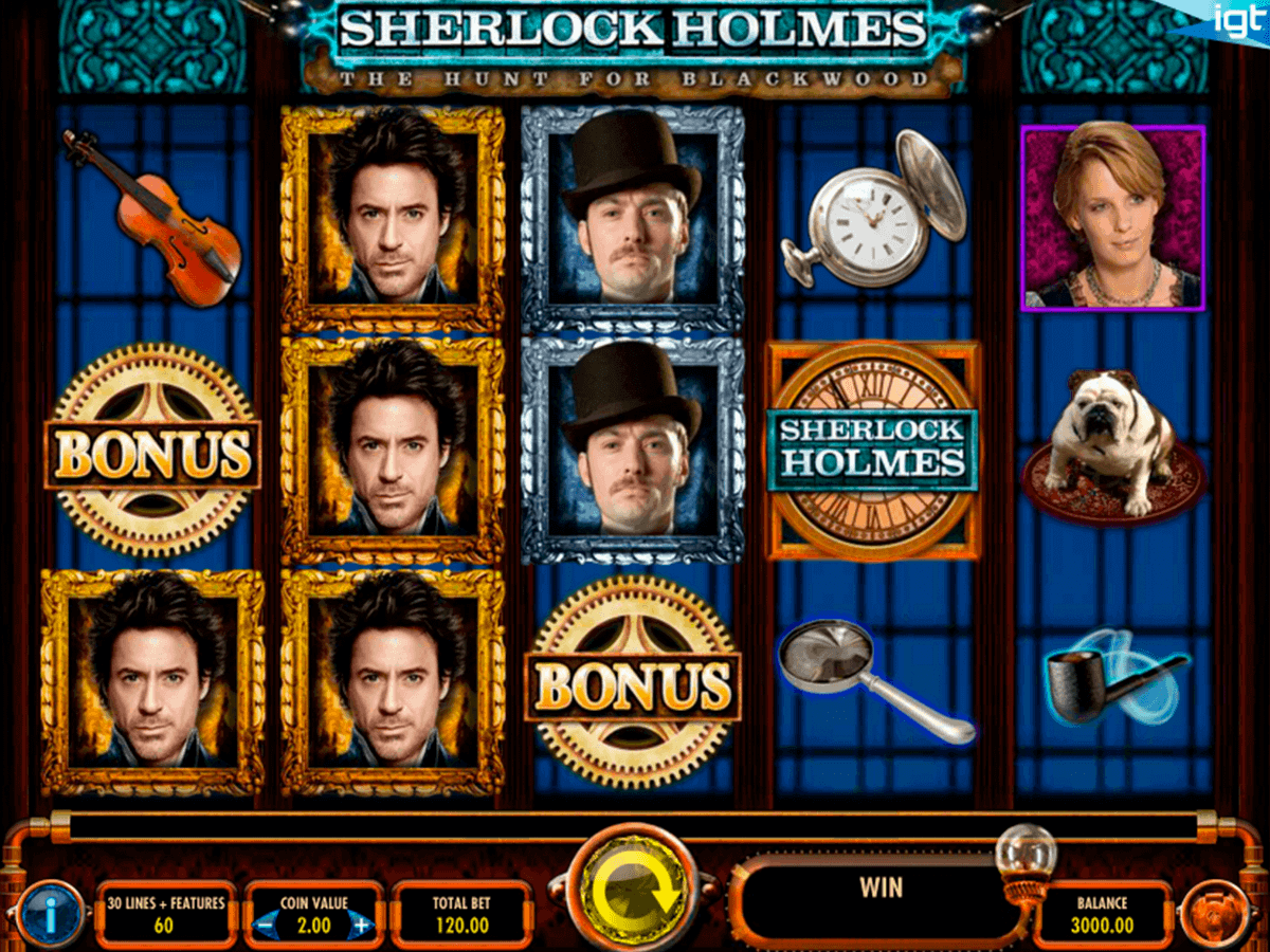 Sherlock Holmes And The Hunt For Blackwood Online Slot