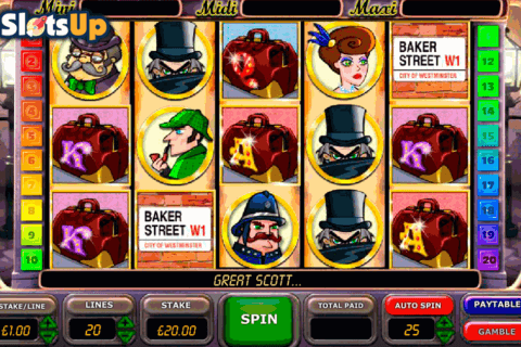 Sherlocks Reel Mystery Slot Machine Online ᐈ OpenBet™ Casino Slots
