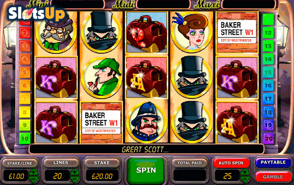 Play Sherlock Mystery Slots Online at Casino.com India