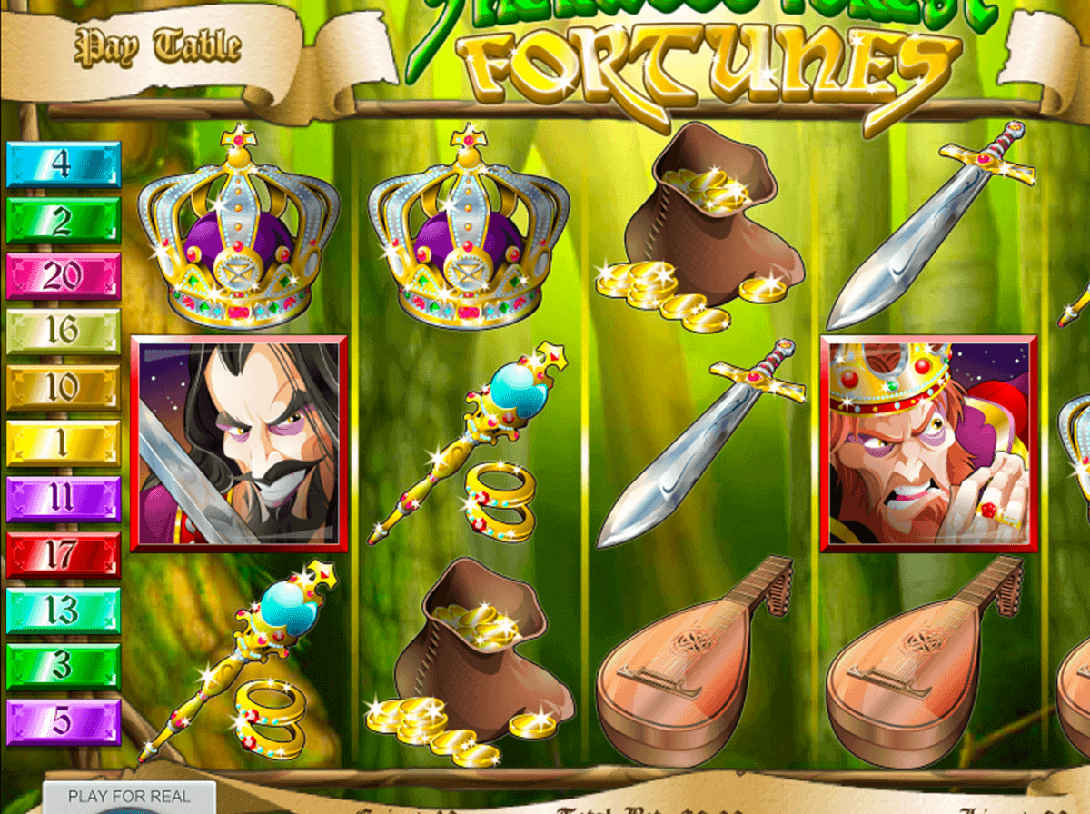 Sherwood Forest Fortunes Slot Machine Online ᐈ Rival™ Casino Slots
