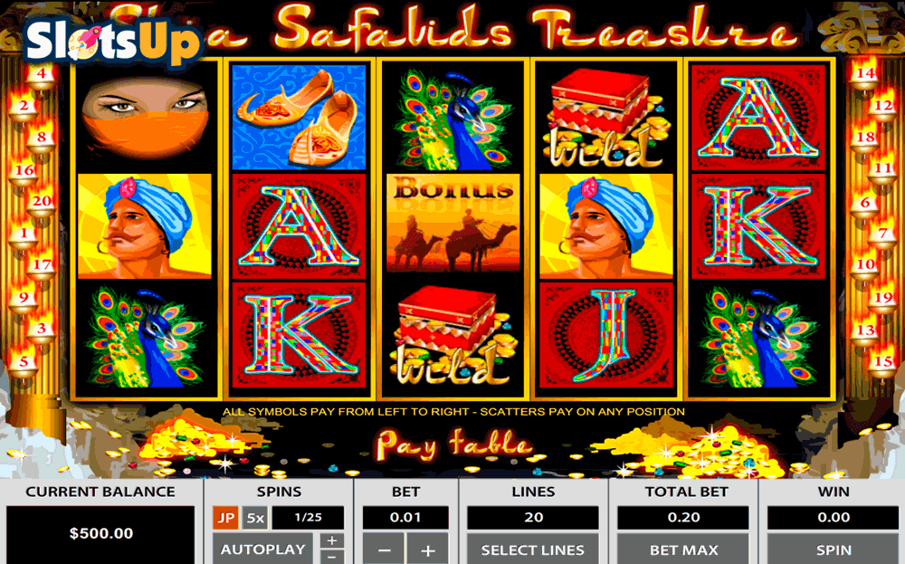 SHIA SAFAVIDS TREASURE TOPGAME CASINO SLOTS