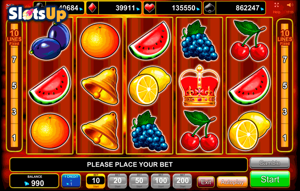 online casino machine games