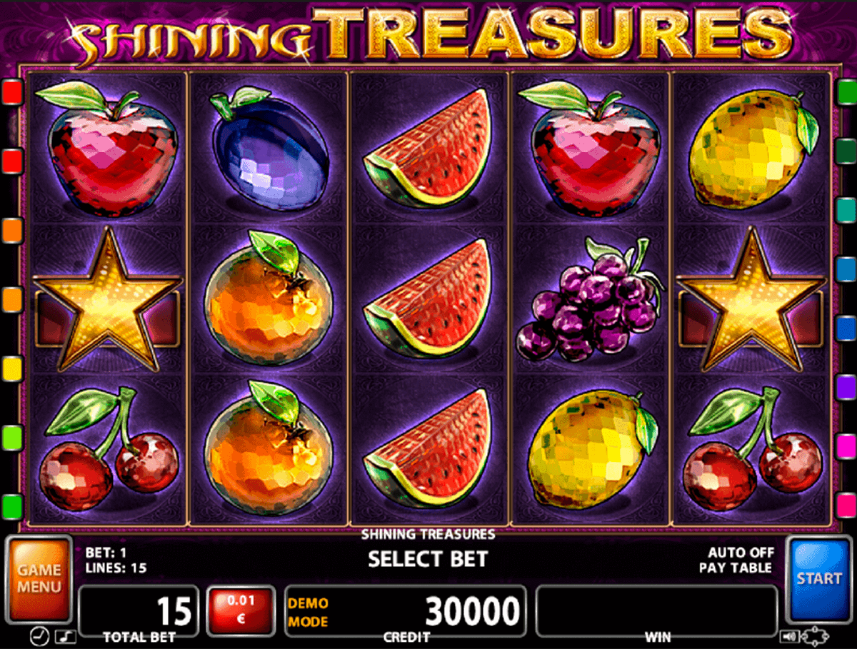 Shining Treasures Slot Machine - Play for Free Online Today