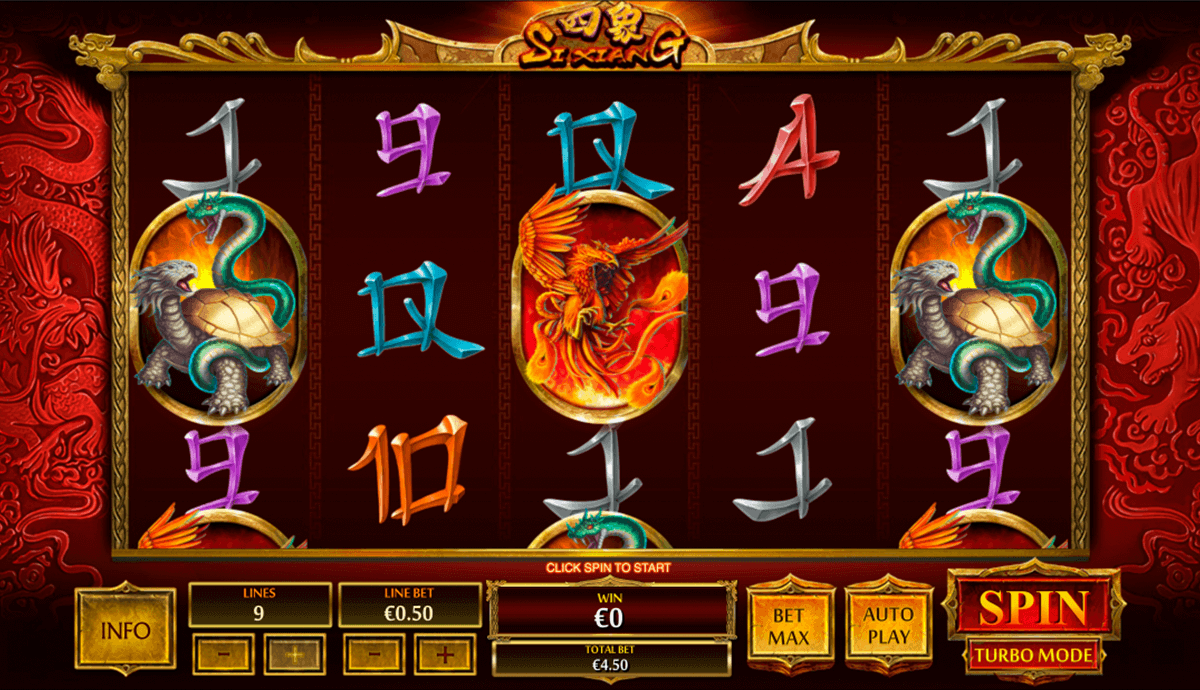 Play Si Xiang Online Slots at Casino.com Canada