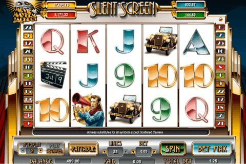 silent screen amaya casino slots