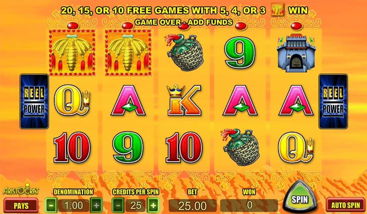 SILK ROAD ARISTOCRAT CASINO SLOTS