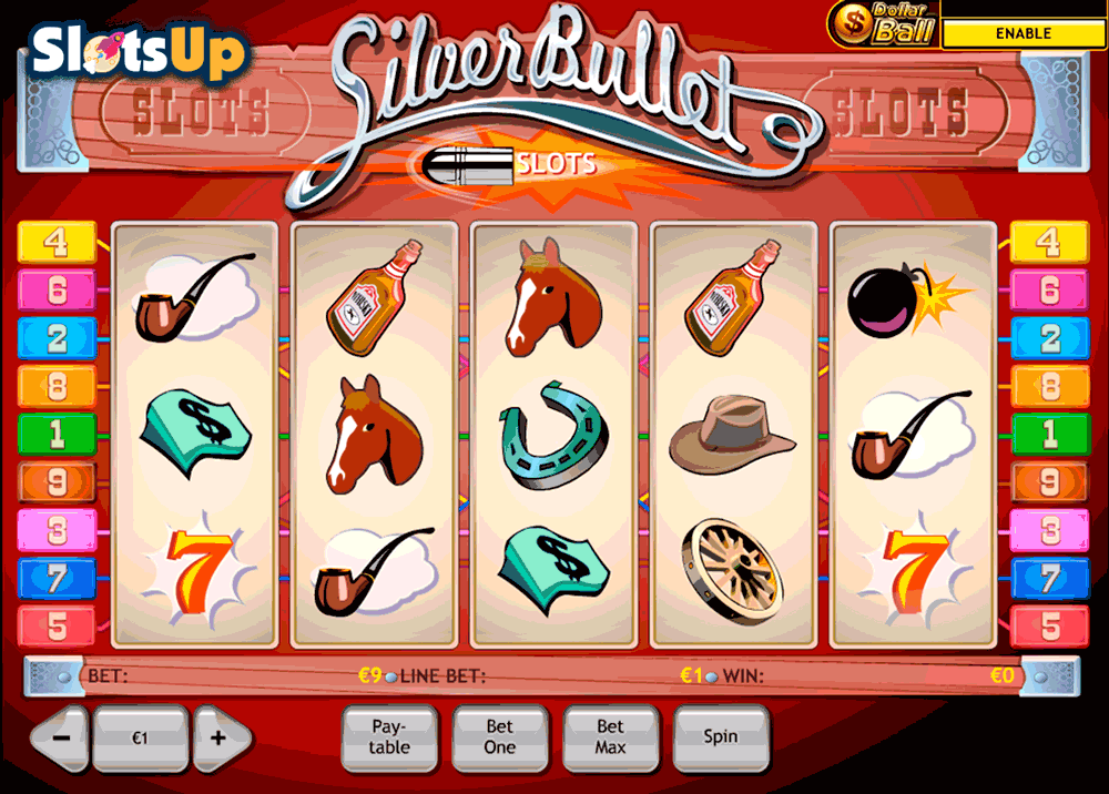 5 Bullets™ Slot Machine Game to Play Free in Playtechs Online Casinos