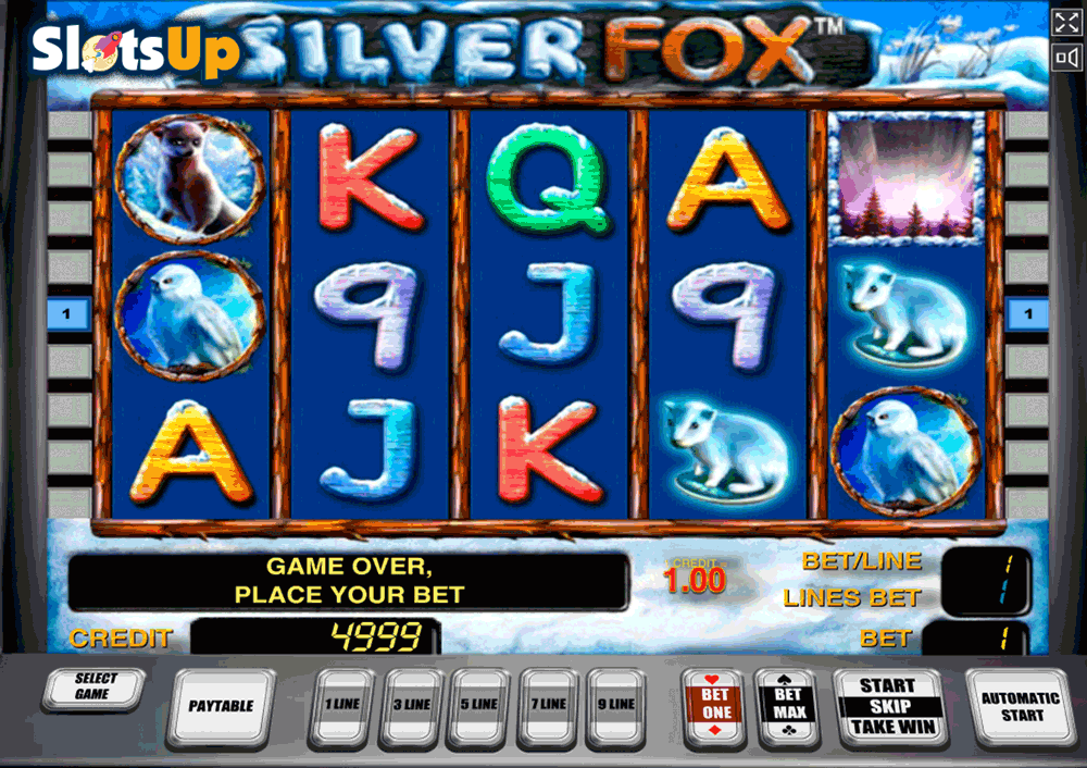silver fox novomatic casino slots