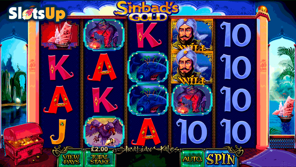 Sinbads Gold Slots - Play Online for Free Instantly