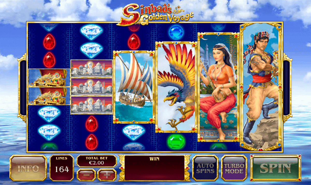 Play Sinbad's Golden Voyage Online Slot at Casino.com NZ