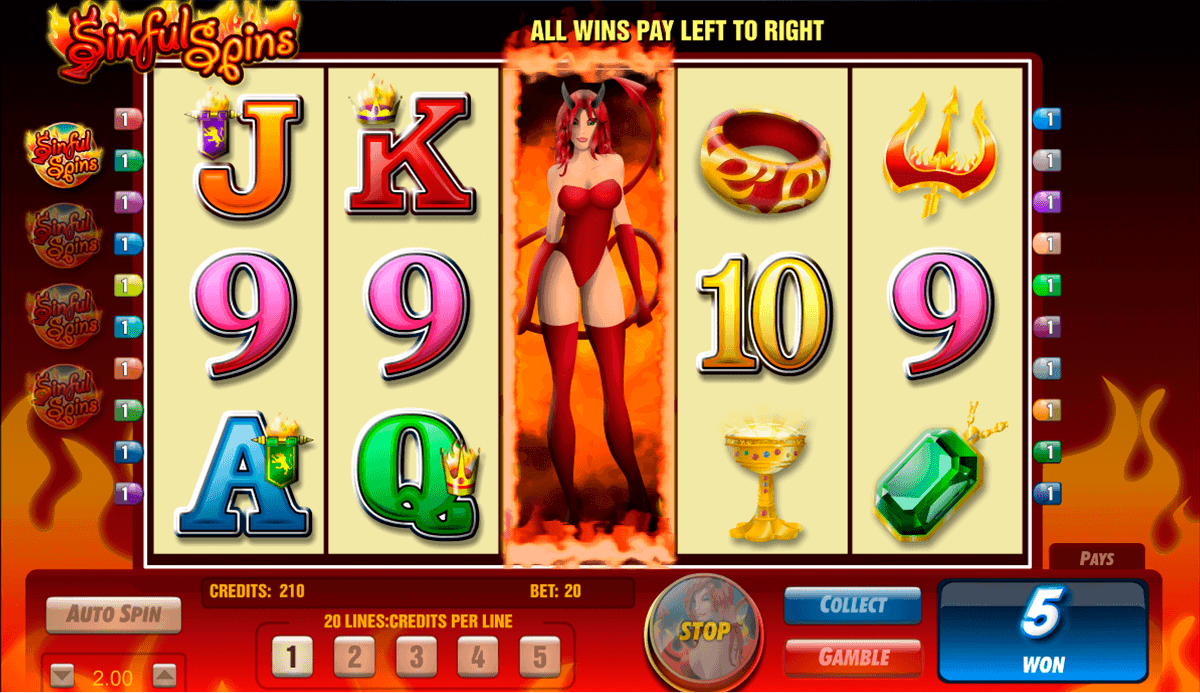 Sinful Spins Slot Machine Online ᐈ Amaya™ Casino Slots