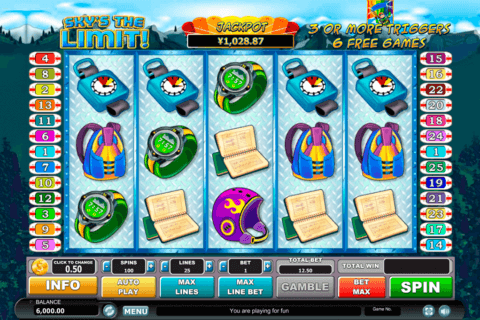 skys the limit habanero slot machine