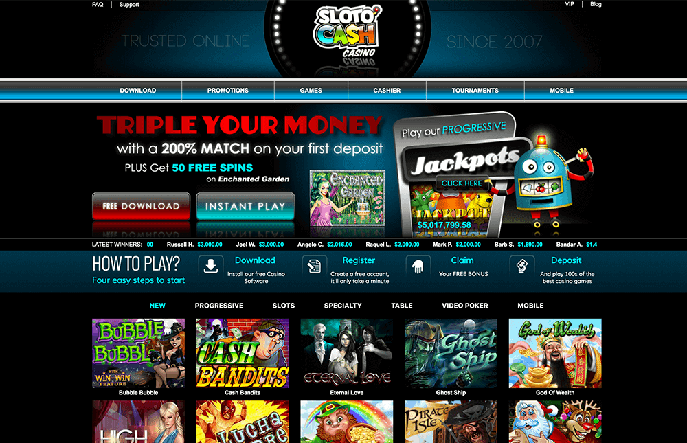 slotocash online casino review