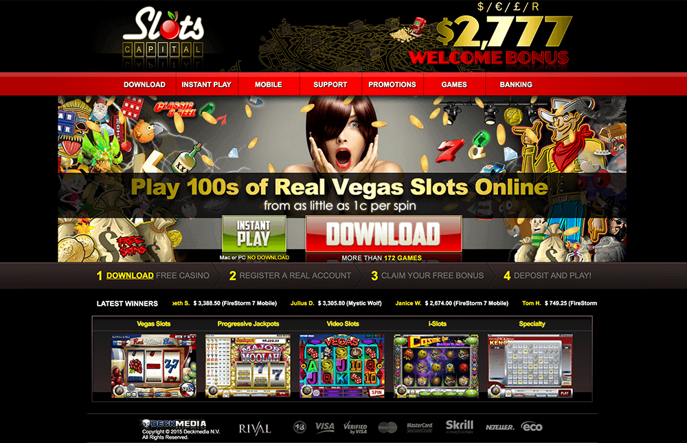 SLOTS CAPITAL CASINO PREVIEW
