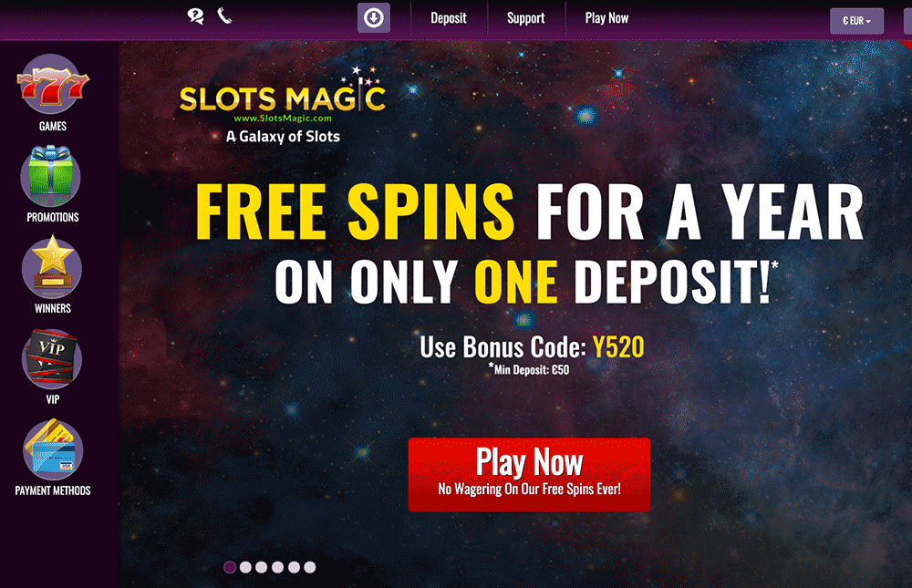 SLOTSMAGIC CASINO PREVIEW