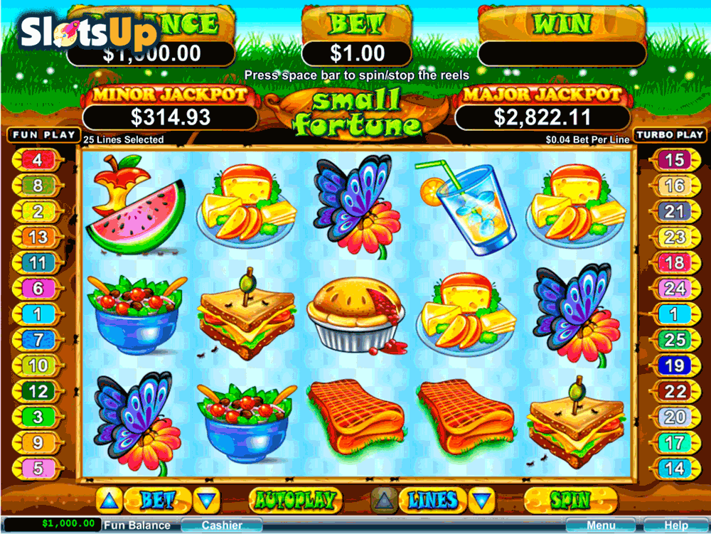 SMALL FORTUNE RTG CASINO SLOTS