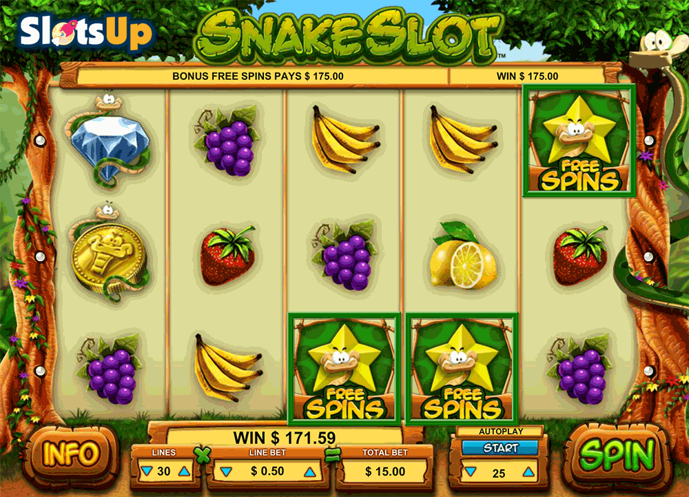 Snake Online Slot Machine Review - Try the Features for Free