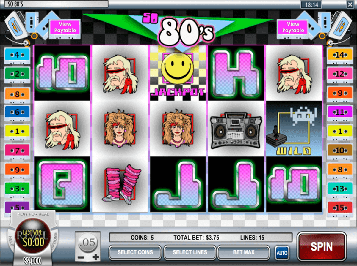 so 80s rival casino slots