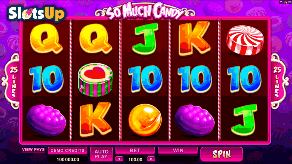 SO MUCH CANDY MICROGAMING CASINO SLOTS