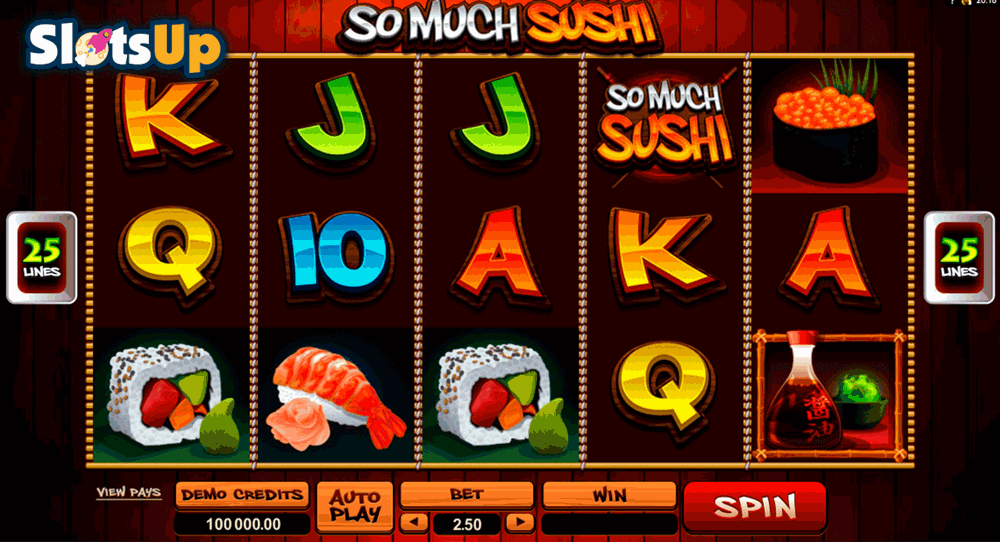 SO MUCH SUSHI MICROGAMING CASINO SLOTS