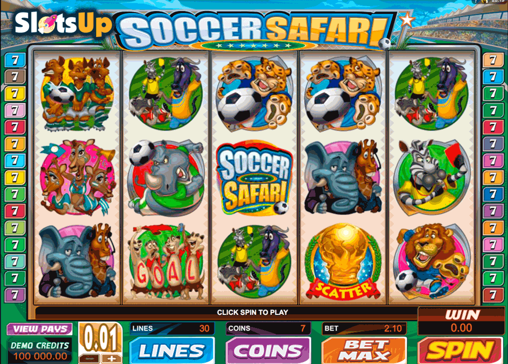 Soccer Safari Slot Machine Online ᐈ Microgaming™ Casino Slots