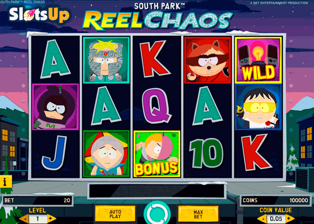 SOUTH PARK REEL CHAOS NETENT CASINO SLOTS