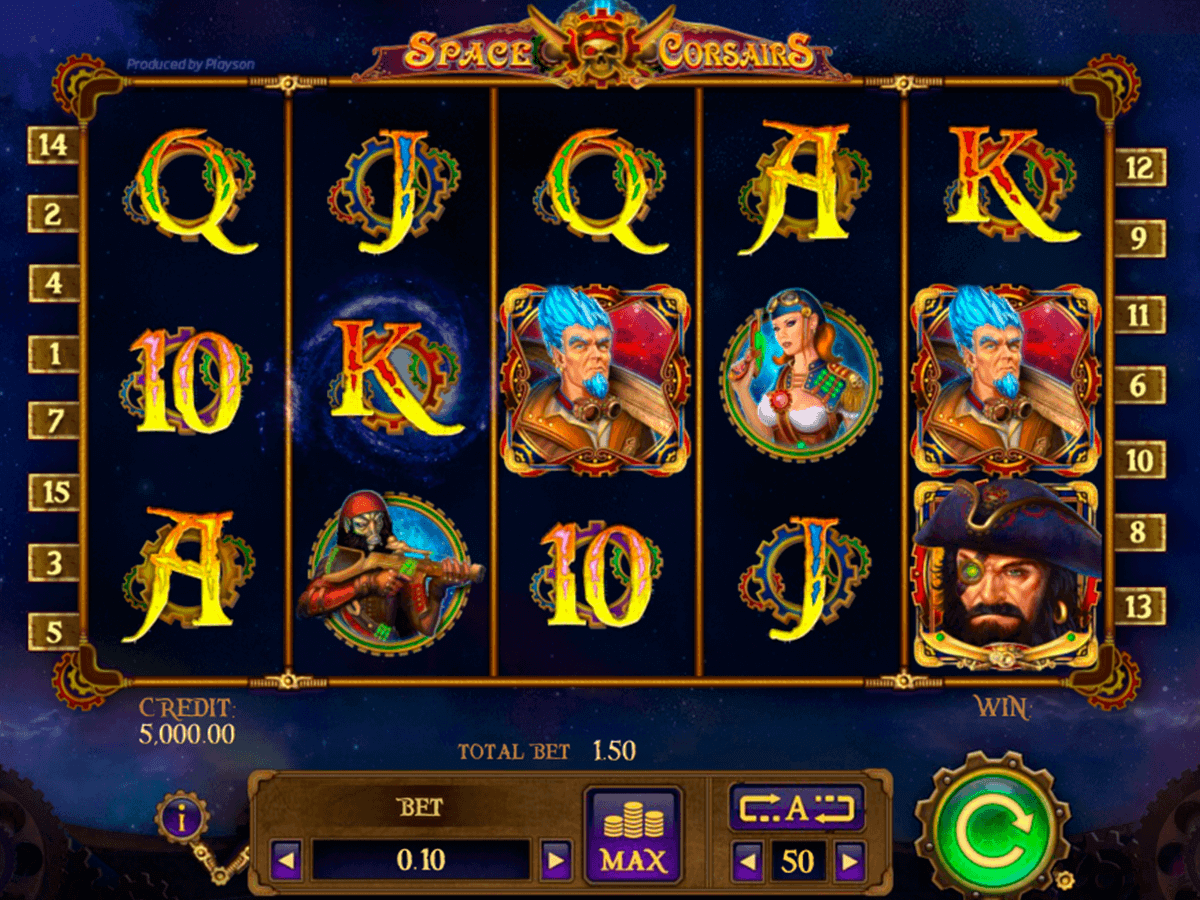 Space Lights Slot Machine Online ᐈ Playson™ Casino Slots