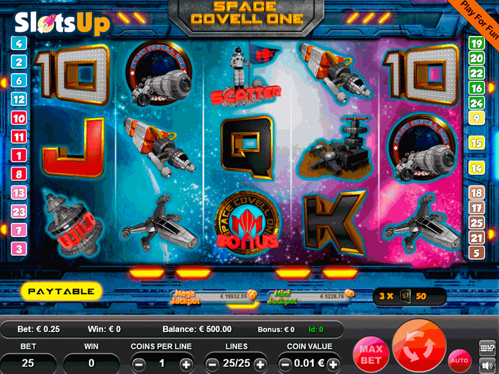 space covell one portomaso casino slots