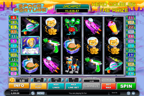 space fortune habanero slot machine 480x320