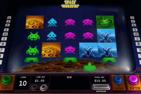space invaders playtech casino slots