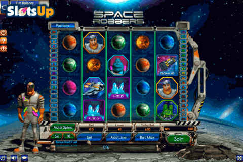 SPACE ROBBERS GAMESOS CASINO SLOTS
