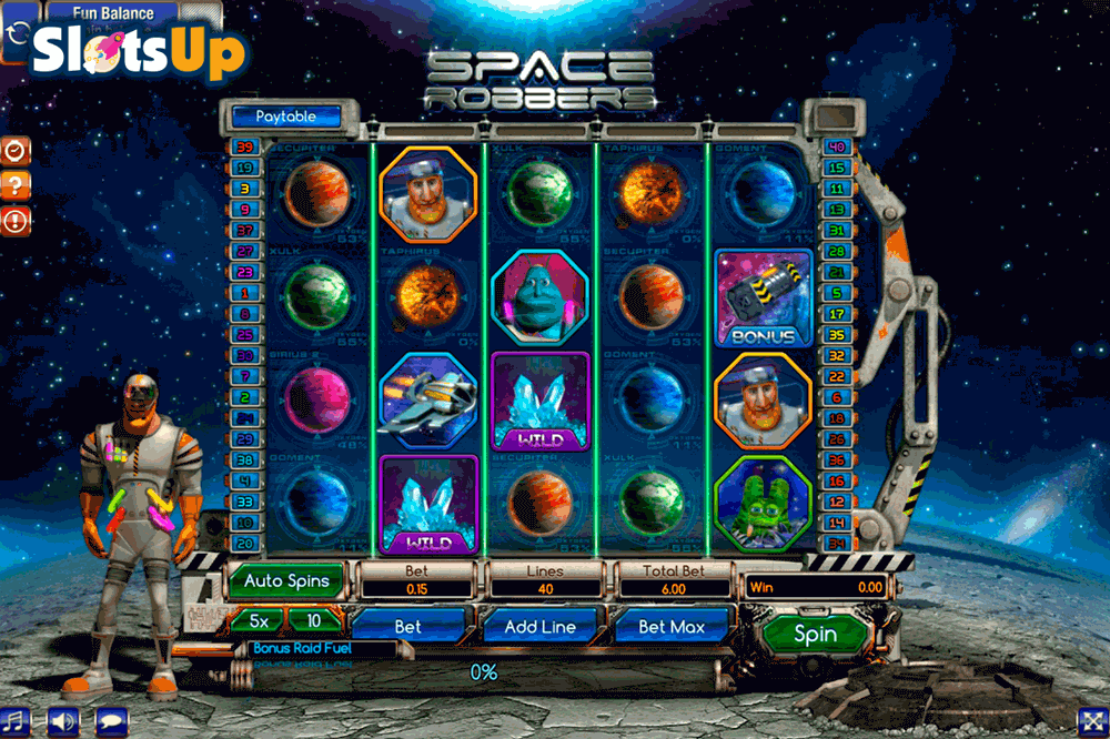 Slot machine space