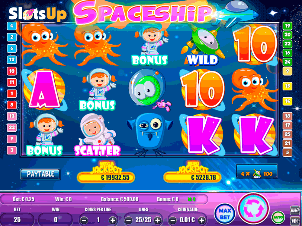 Spaceship Slot Machine Online ᐈ Portomaso Gaming™ Casino Slots