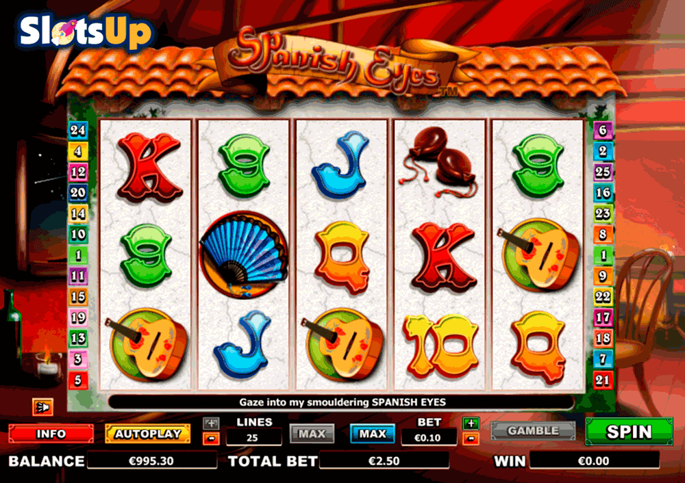 Spanish Eyes™ Slot Machine Game to Play Free in NextGen Gamings Online Casinos