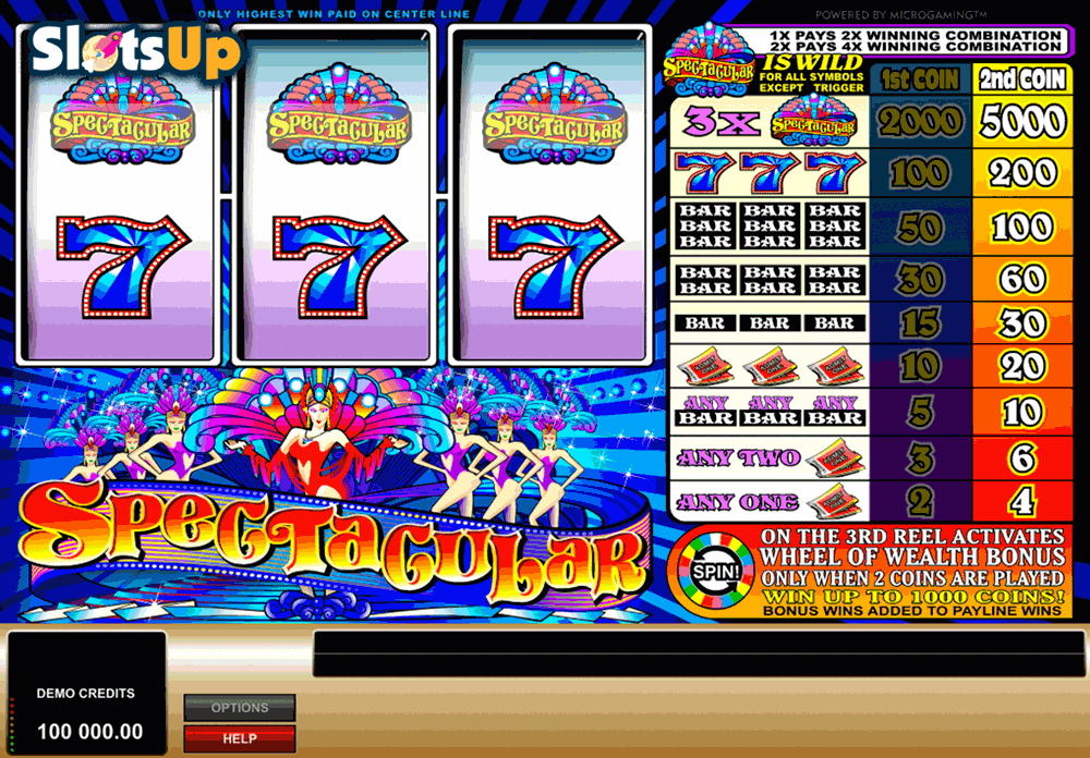 SPECTACULAR MICROGAMING CASINO SLOTS