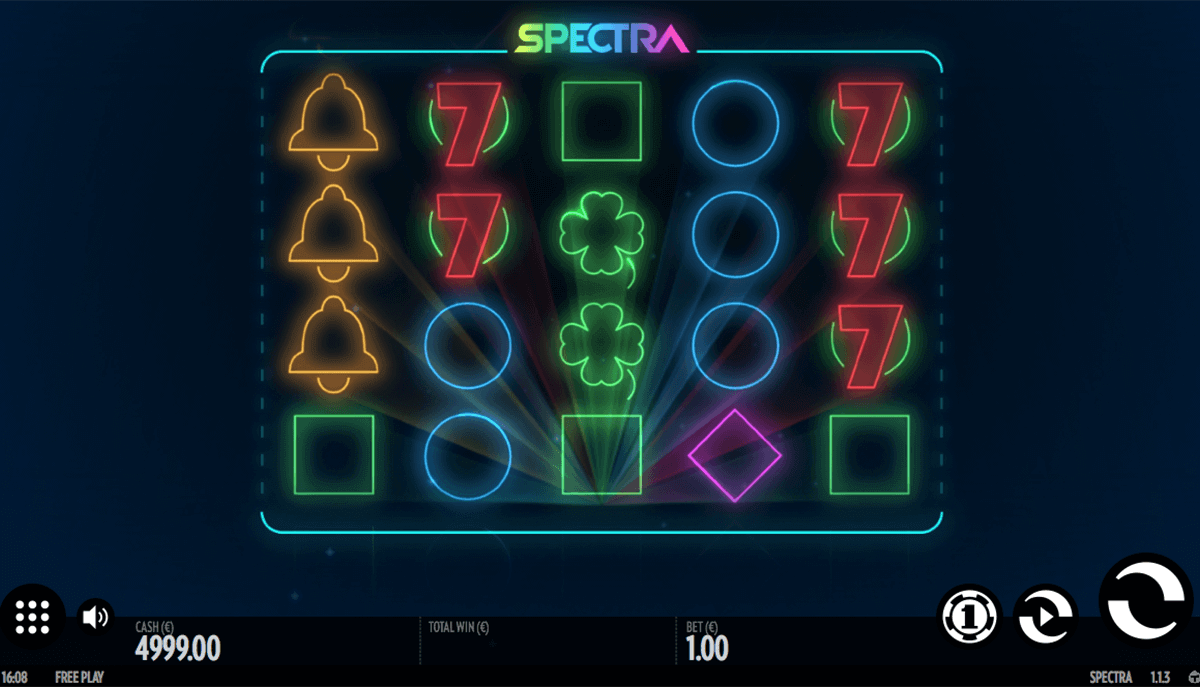 Spectra Online Slot for Real Money - Thunderkick Slots