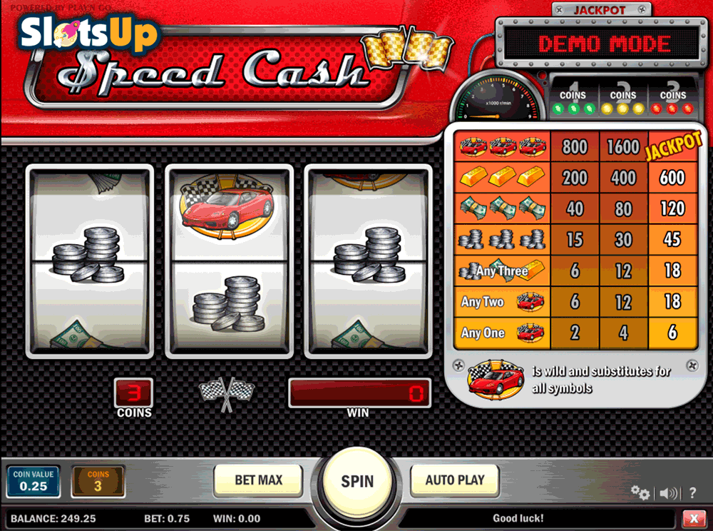 SPEED CASH PLAYN GO CASINO SLOTS