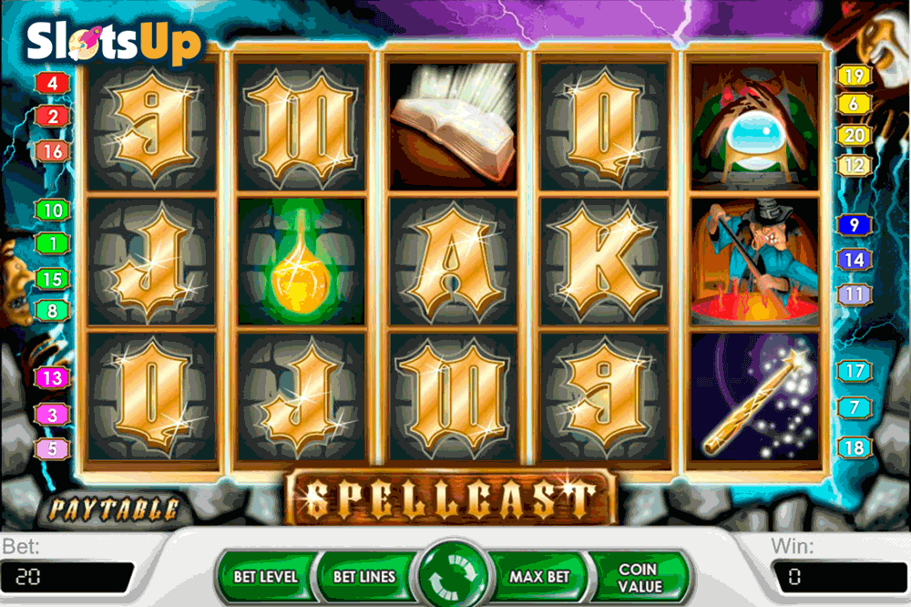 Spellcast™ Slot Machine Game to Play Free in NetEnts Online Casinos