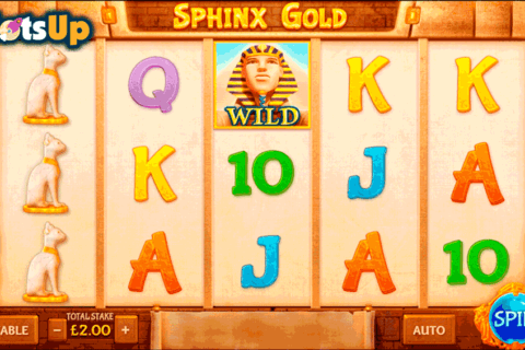 sphinx gold cayetano casino slots