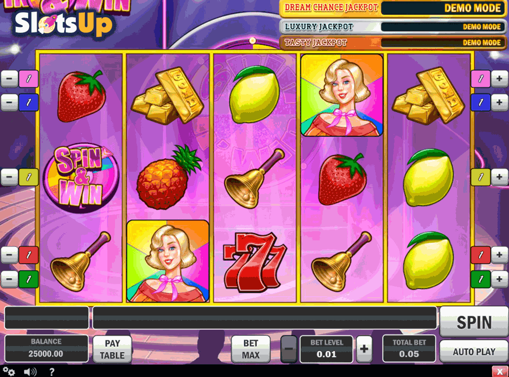 Spin n Win™ Slot Machine Game to Play Free in Amayas Online Casinos