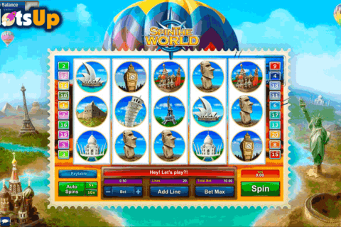 SPIN THE WORLD GAMESOS CASINO SLOTS