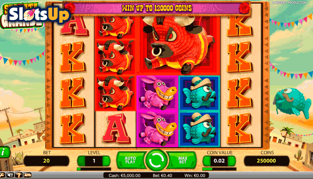 Spinata Grande™ Slot Machine Game to Play Free in NetEnts Online Casinos